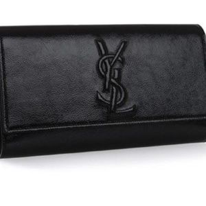 31759b93a1 Yves Saint Laurent Bags - Yves Saint Laurent Black Clutch YSL